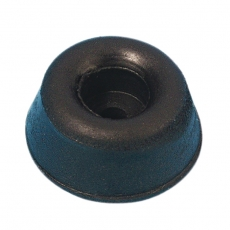Boxenfuss Gummi, Gummifuss Gummifuß 20 x 9 mm