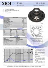 Sica 6 D 1,5SL -LP165.38/N140+10 TER 4Ω  - 6,5 Breitband