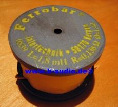 Ferrobar Rollenkern DR56 - 1mH-33mH (1,32mm-1,4mm Draht)