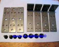 MF1201-Flug-Set inkl. M8 und M10 Inbusschrauben