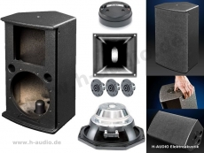 Limmer LimbO 8NW 8/1 Top Lautsprecherbausatz inkl. Frequenzweiche