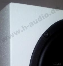 Warnex Strukturlack Weiss /Lautsprecherlack 12x 1kg