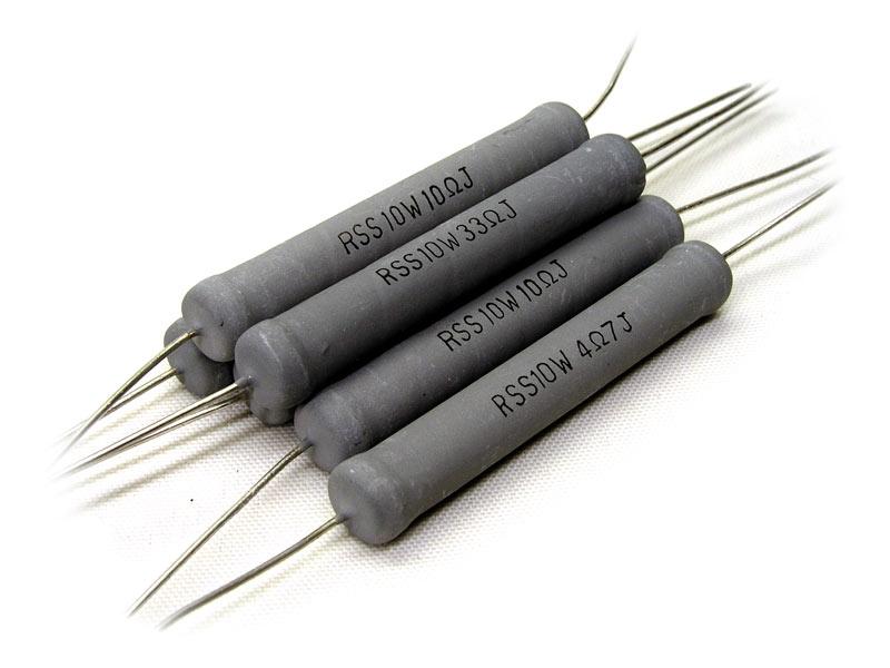 100 Ohm 1 Watt Metalloxid Widerstand MOX 10 St/ück