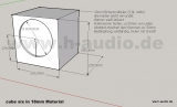 CUBE SIX - FR - 6,5 Breitband Lautsprecherbausatz