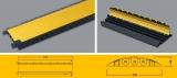 85200 Defender Mini Kabelbrücke schwarz mit gelben Deckel