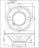 Ersatz-Chassis für HK Audio L Sub 2000 A Linear 5