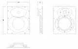 Limmer 630 BC 1 Hornflare für B&C Schallwandler
