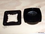 Griffschale H1028 Kunststoff, vier Seiten Griff mit Abdeckung