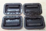 4 x Klappgriff schwarz, Restposten