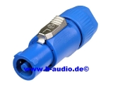 Neutrik NAC3FCA Powercon Stecker (blau) (7900)