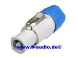 Neutrik NAC3FCB Powercon Stecker (grau) (7902)