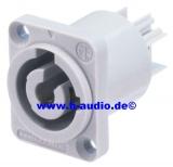 Neutrik NAC3MPB Powercon Buchse (grau) (7903)