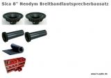 Sica 4450 Breitband Lautsprecherbausatz - Paarpreis