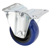 Bockrolle 80mm blue wheel