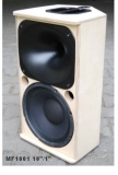 Lautsprecherbausatz MF1001 10PRO/RCF N350/Eighteensound XT1086