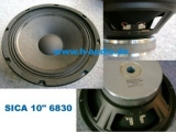 Sica 10 10E2CS 6830 - Bassmitteltöner